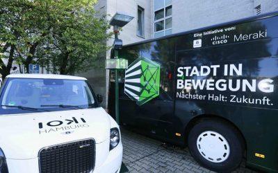 "Economic initiative ""Stadt in Bewegung"" digitises cities – founding partner ioki as mobility expert on board"