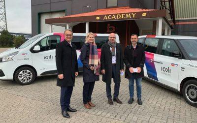 Connection via App: Demand-responsive transport service ioki Hamburg now also in Billbrook