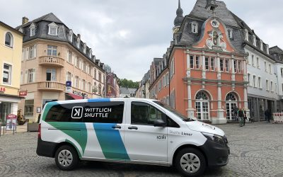 More passengers, more stops: The Wittlich shuttle now also operates as a vaccination transport