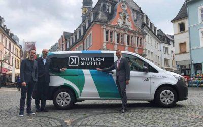 Wittlich Shuttle: ioki startet deutschlandweit ersten digitalen Rufbus