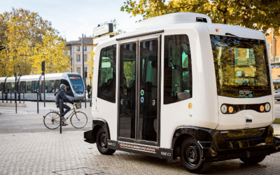 Autonome Shuttles in Karlsruhe