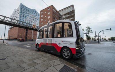 Hamburg fährt autonom: Hochbahn startet ersten selbstfahrenden Bus in der Hafenstadt