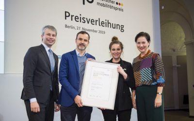 Moin, moin! ioki Hamburg gewinnt den Deutschen Mobilitätspreis