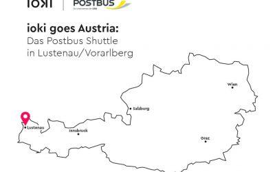 ioki announces first international pilot: The Postbus shuttle in Lustenau/Vorarlberg