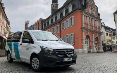 """On-demand mobility in rural areas: """"Wittlich Shuttle"""" multiplies passenger numbers by four"""