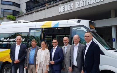 """PforzheimShuttle"" brings new mobility service into the region"