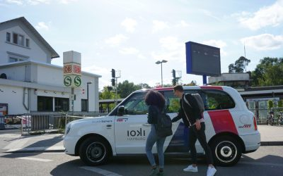 Study proves: The on-demand service ioki Hamburg strengthens local transport