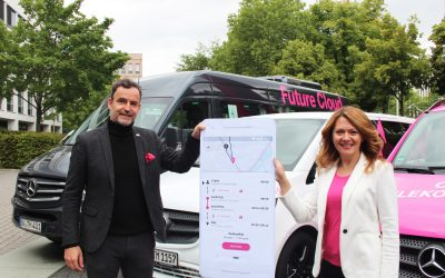 ioki goes Magenta: Telekom Shuttle makes employees mobile on-demand