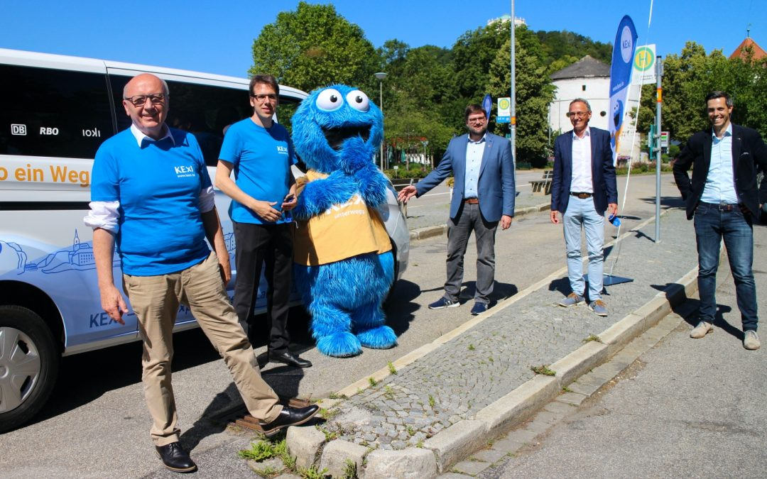 """On-demand service """"KEXI"""" brings passengers flexibly from A to B in the district of Kelheim"""