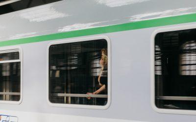 Was ist grün? Die Deutsche Bahn