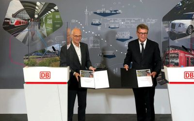 Smart and digital: Deutsche Bahn and City of Hamburg extend Smart City partnership by five years