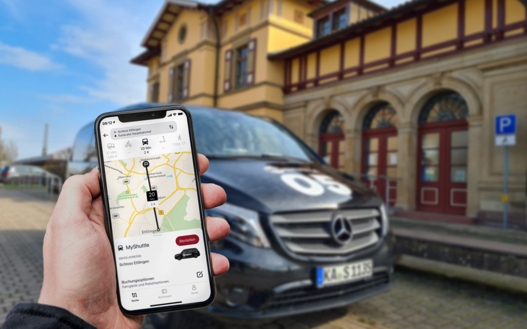 Mobility from a single source: ioki and Mobimeo team up for the first time to upgrade the multimodal app KVV.mobil