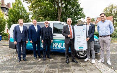 On-Demand-Plattform von ioki stärkt Nahverkehr in Rhein-Main-Gebiet: Knut startet in Frankfurt